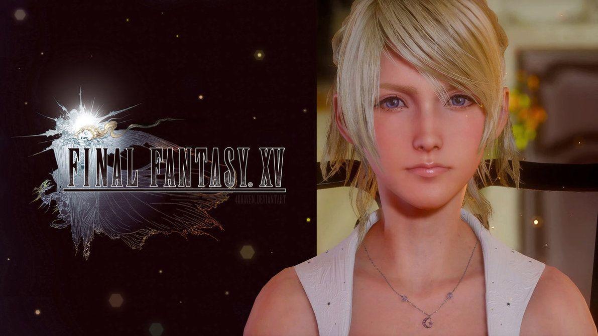 Final Fantasy Xv Logo Uhd 4k Wallpaper: Lunafreya Nox Fleuret ::: 4K Wallpaper By NurBoyXVI