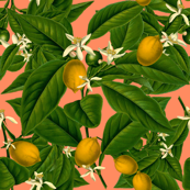 Lemon Botanical ~ Kiss Me, Hardy! by peacoquettedesigns