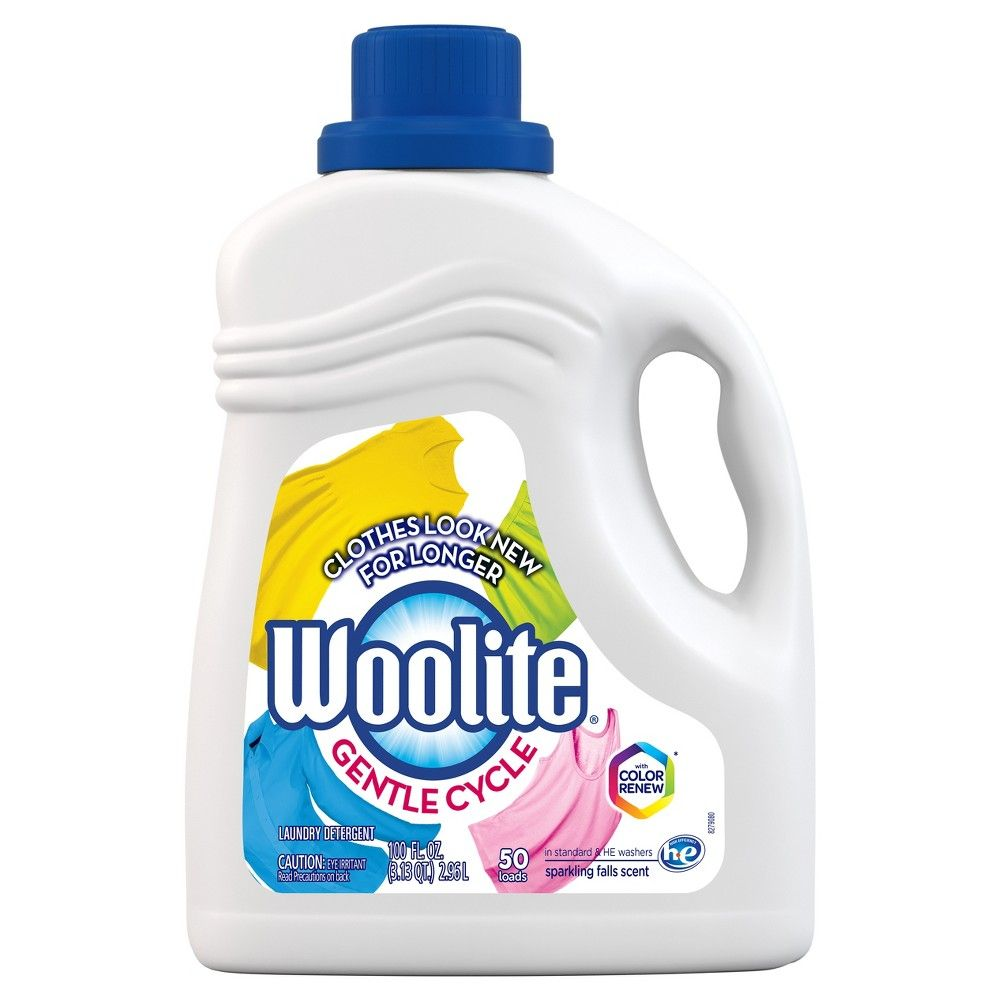 Woolite Gentle Cycle Liquid Laundry Detergent For He And Regular
