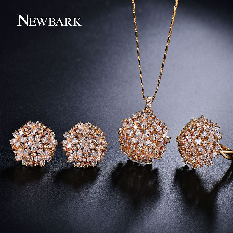 Cheap Wedding Jewelry Sets Buy Quality Designer Set Directly From China Suppliers NEWBARK Romantic Trendy Flower Design