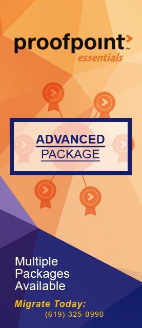 Proofpoint Essentials Packages | Proofpoint Essentials | Packaging