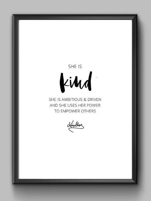 SHE Is KIND