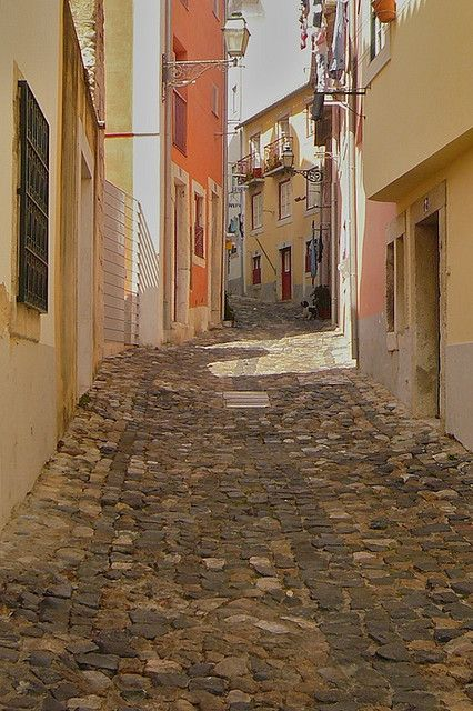 Las calles de pedras...