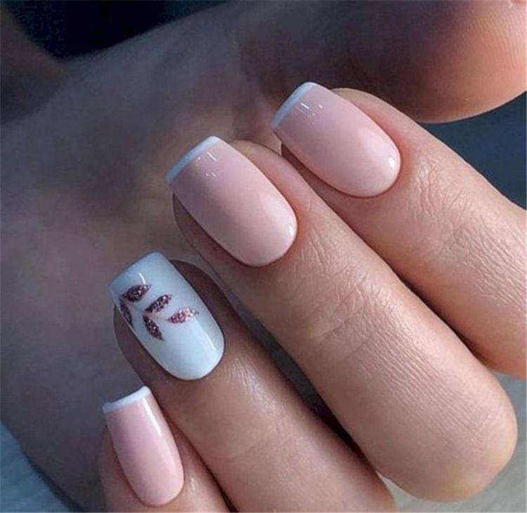 40 Spring Square Acrylic Nails Designs To Try Now Square Acrylic Nails Bridal Nail Art Stylish Nails