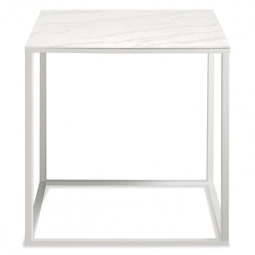 Minimalista Side Table In 2020 White Side Tables Modern Side Table White Marble Side Table