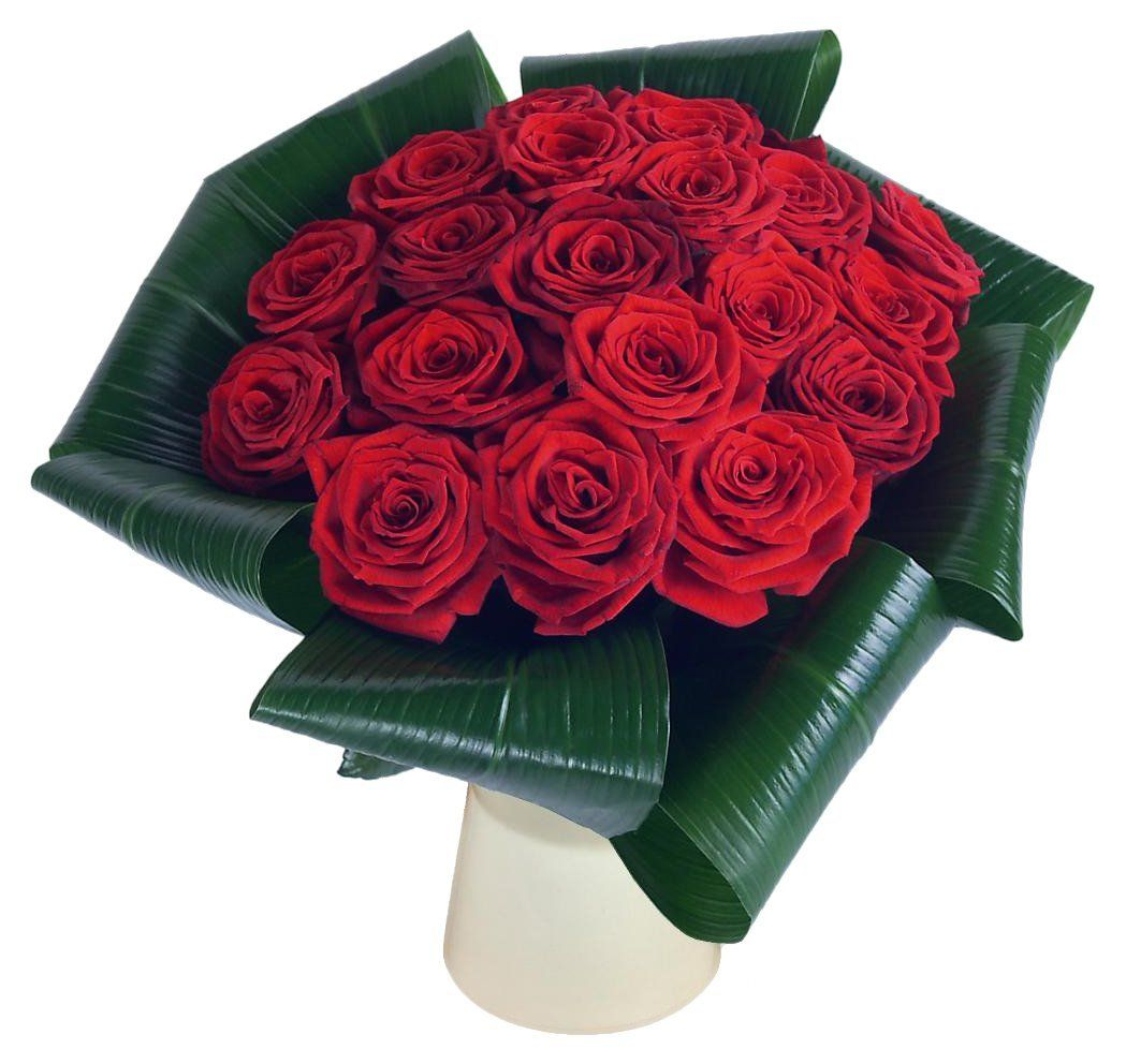 Clare Florist Love 20 Red Rose Fresh Flower Bouquet Beautiful