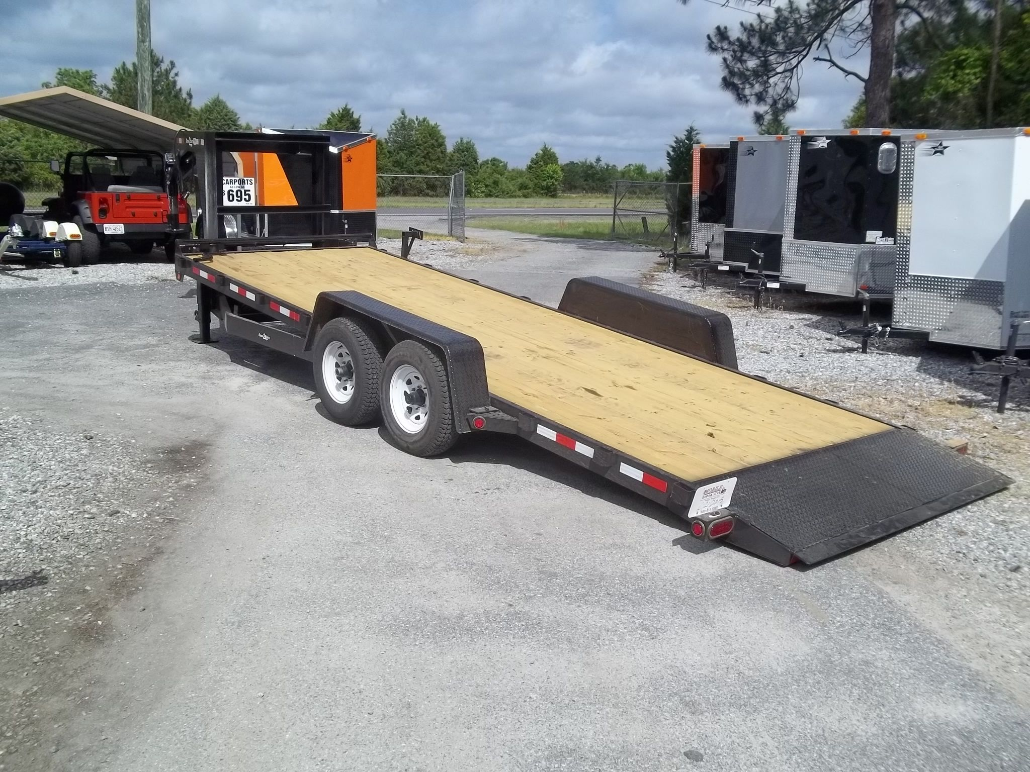 24 Tilt Deck Gooseneck Low Profile Trailer Trailers Pinterest Gatormade Wiring Diagram