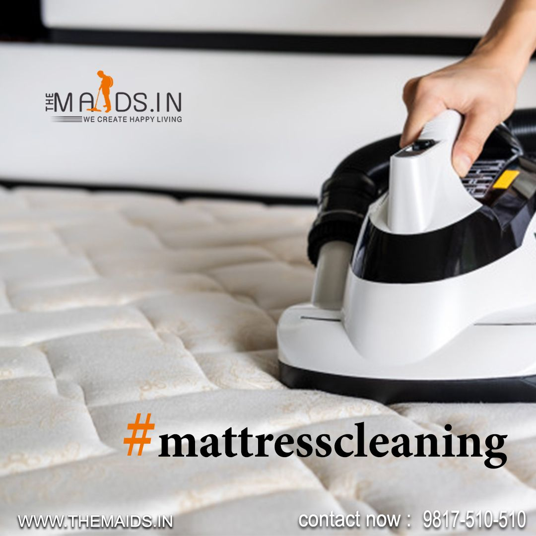 """""""Mattress cleaning from hands of professional using"""