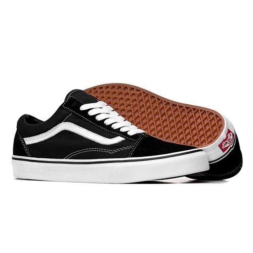 4b774ebedb0 Tênis Vans Old Skool Preto e Branco