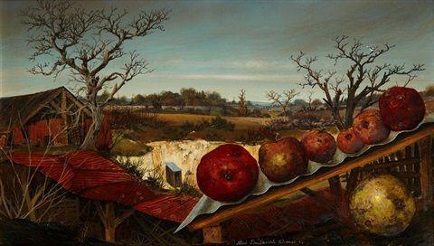 Pommes devant la grange, Aix von Albert Drachkovitch