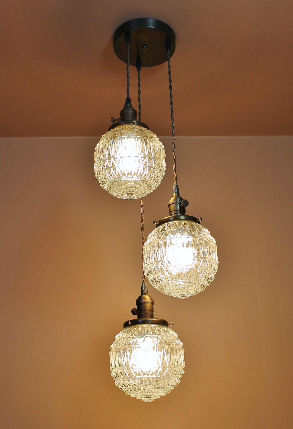 light chandelier cascading pendant lights with inch textured