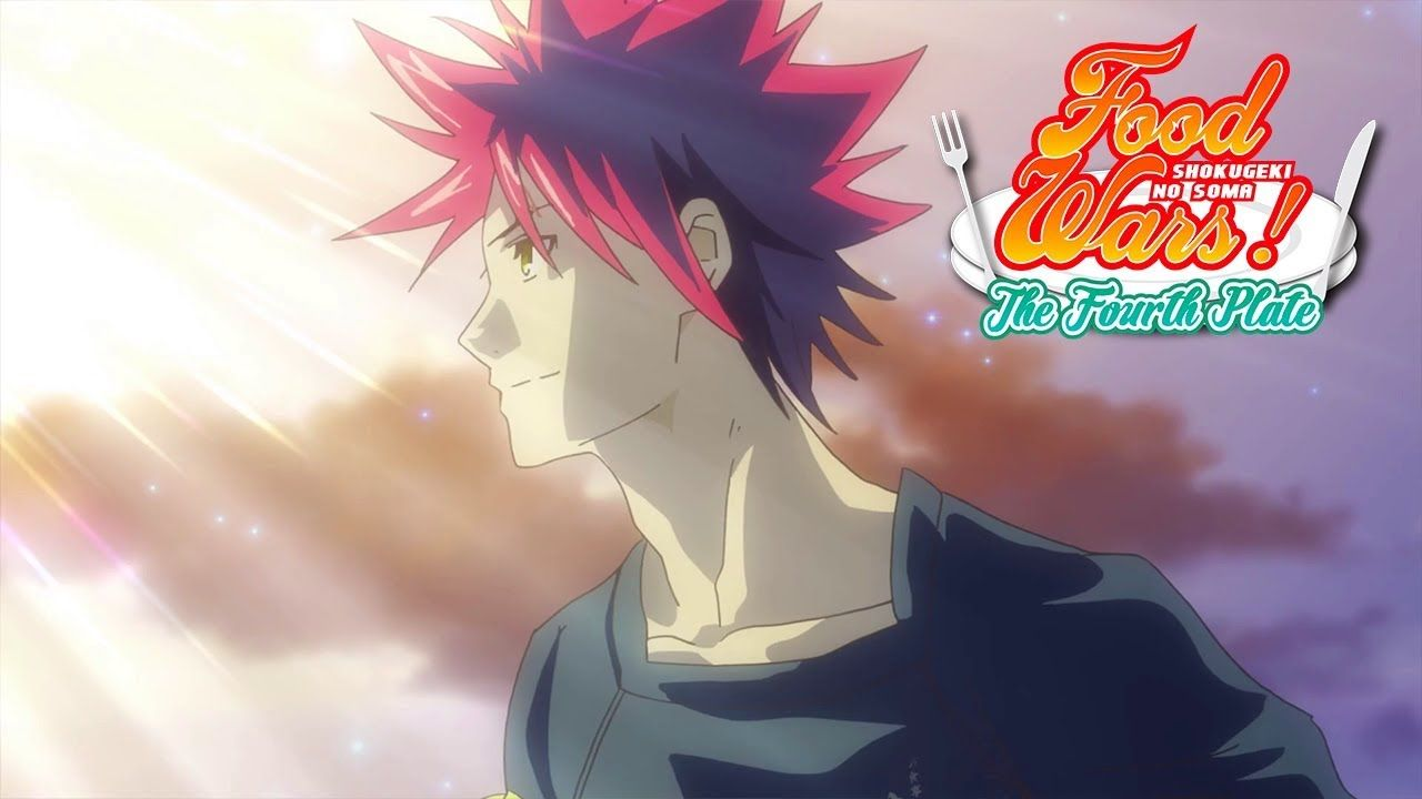 Food wars the fourth plate ending hd youtube with