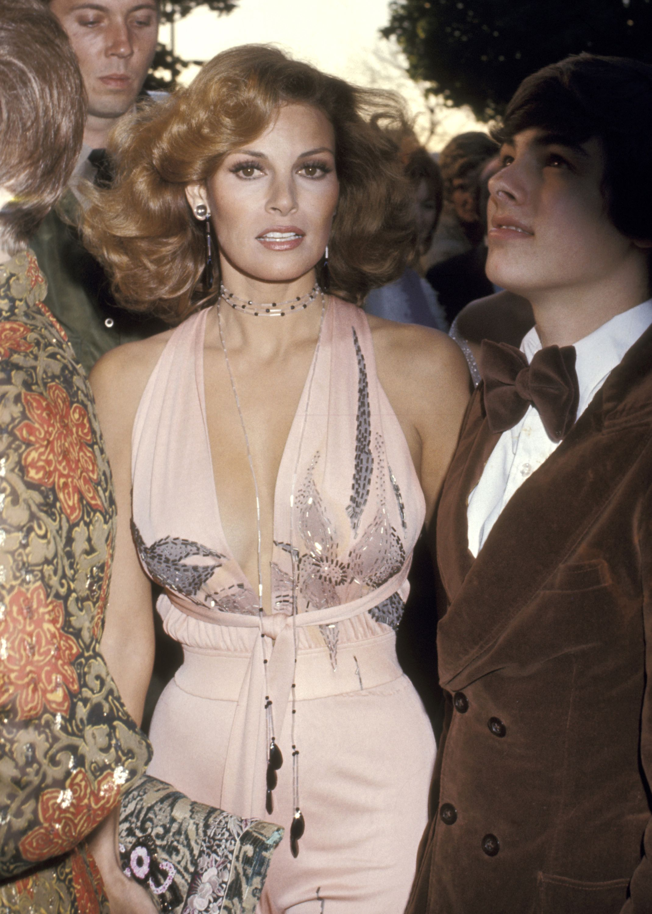 Image result for red carpet hairstyles 1970's