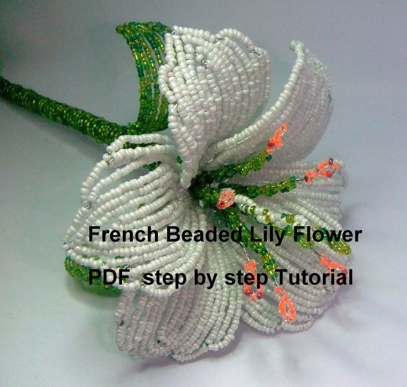 1000+ ideas about Beaded Flowers Patterns on Pinterest | Beaded ...