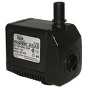 "Power Head Pump 180 GPH / 6 Feet Cord by Alpine Corporation. $24.46. For Underwater Use Only; Indoor or Outdoor Rated. 180 GPH; 4'6"" Max Head; 120 V; 6 ft cord. Easy water flow adjustment. Reliable and quiet submesible water pump. Suitable for fountains, ponds, aquariums and industrial tanks. P180 Features: -Pump.-Flow control and oil free magnetic design.-Epoxy protected and has ceramic impeller shafts for long life.-Reliable and quiet submersible water pumps wil..."