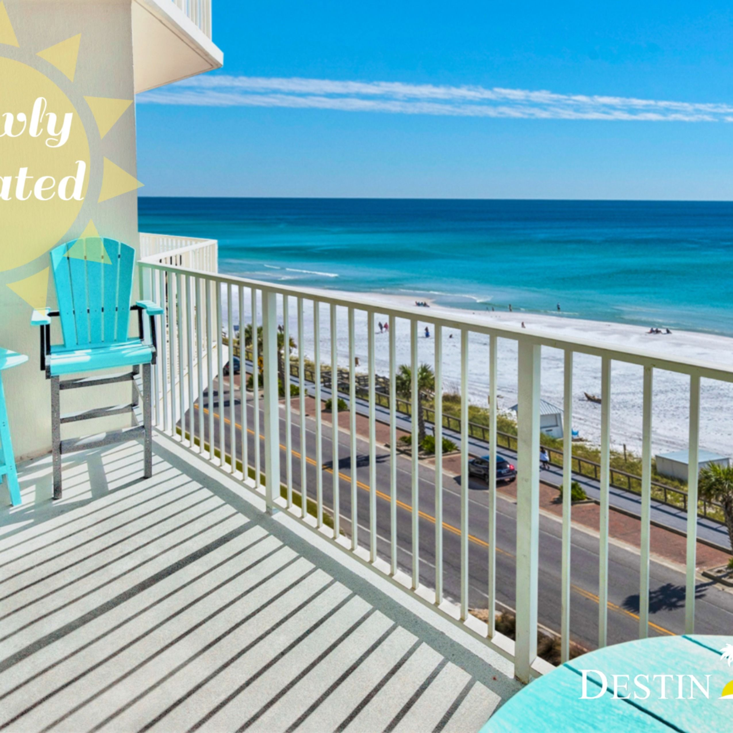 This 6th floor Majestic Sun 612B vacation rental condo in