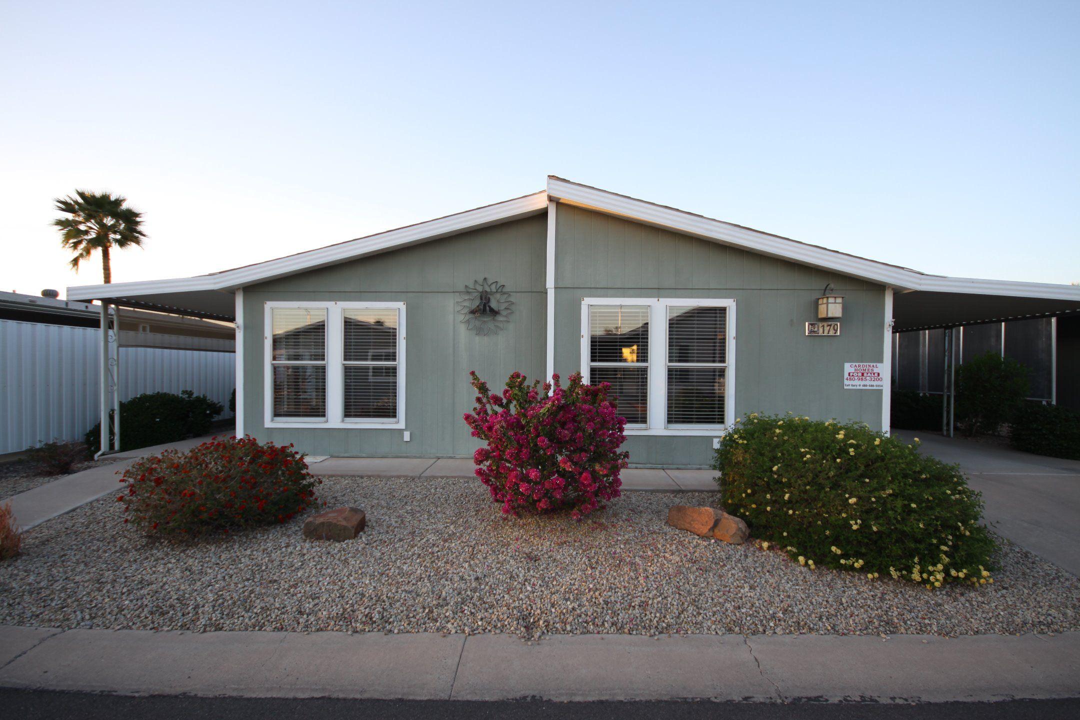 cavco mobile home for sale in mesa az 85215 manu homes rh pinterest com Hummingbird Homes Mesa AZ HUD Homes AZ