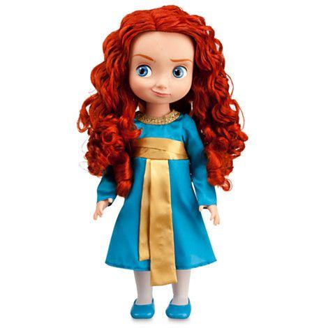 "Disney Store Princess Merida Doll 16"" New"