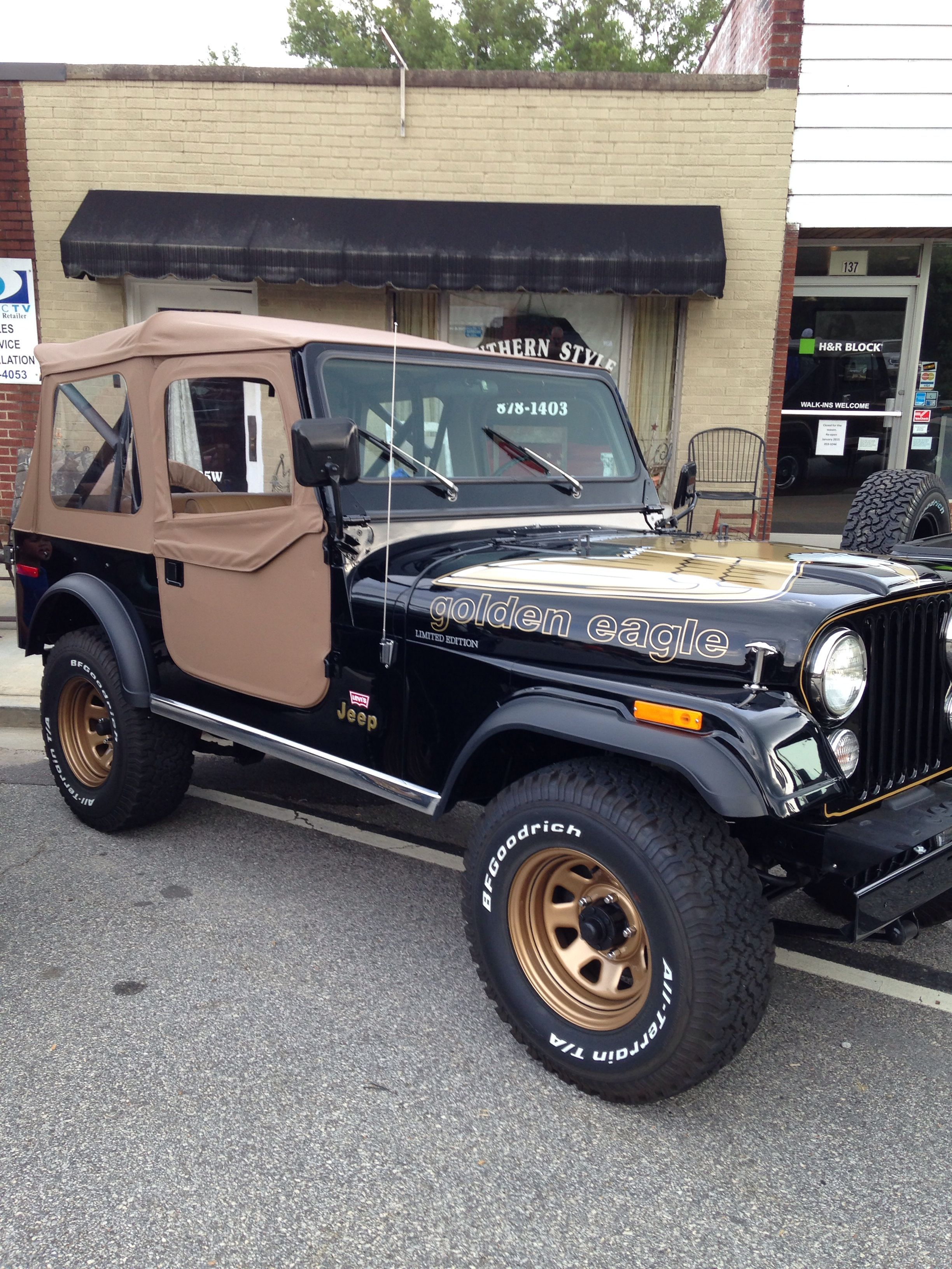 Golden Eagle Jeep Cj Vintage Jeep Jeep Cj7