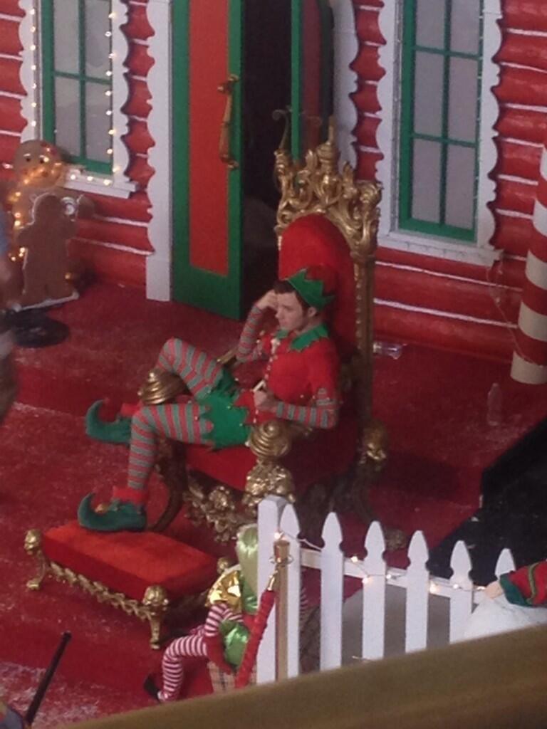Glee Christmas episode 05X8