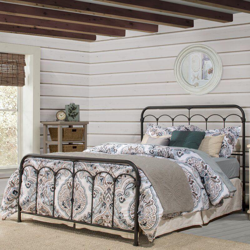 August Grove Perran Standard Bed Reviews Wayfair In 2020 Hillsdale Furniture Metal Beds Panel Bed