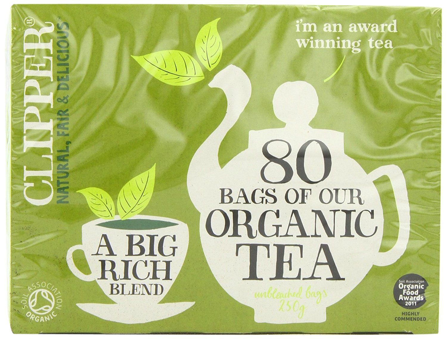 b06b9792ef0 Clipper Teas - Everydays - Organic Tea - 80 Bags (Case of 6) >>> You can  get more details by clicking on the image. (This is an affiliate link)  #Herbal