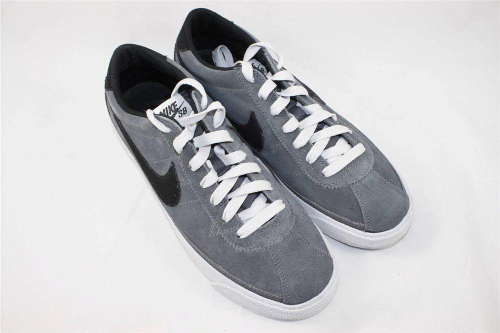 new style 82733 e0ebc Brand New Nike Zoom Bruin SB Size 9.5 Dark Grey Black 366665 007  Nike   AthleticSneakers