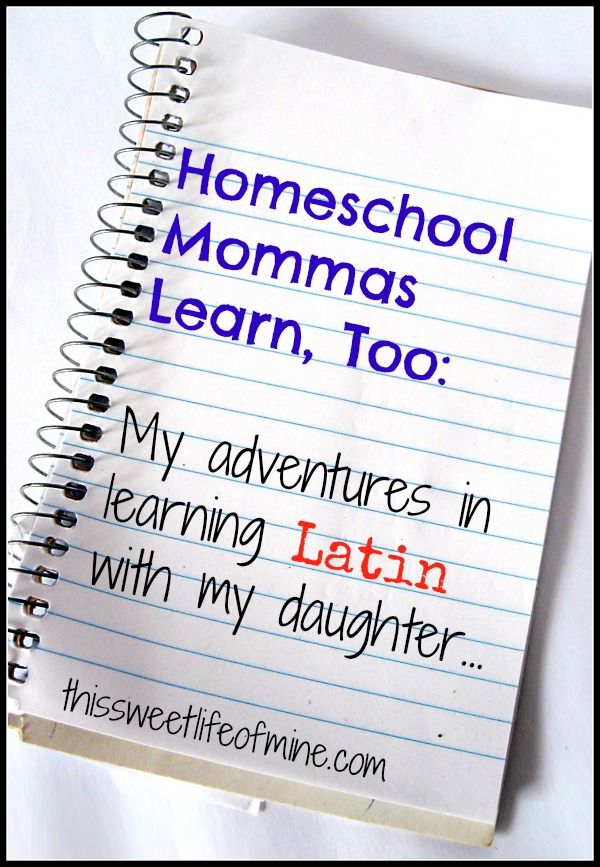 homeschool mommas learn  too