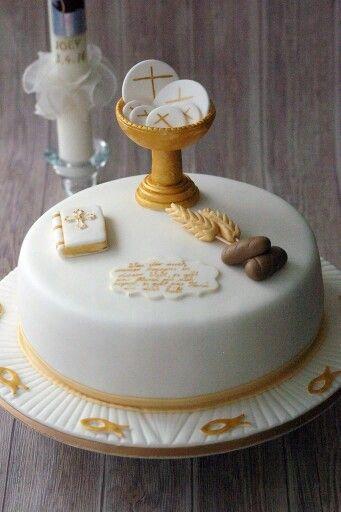 Kommunion Torte Cake Design By Back Bienchen Church