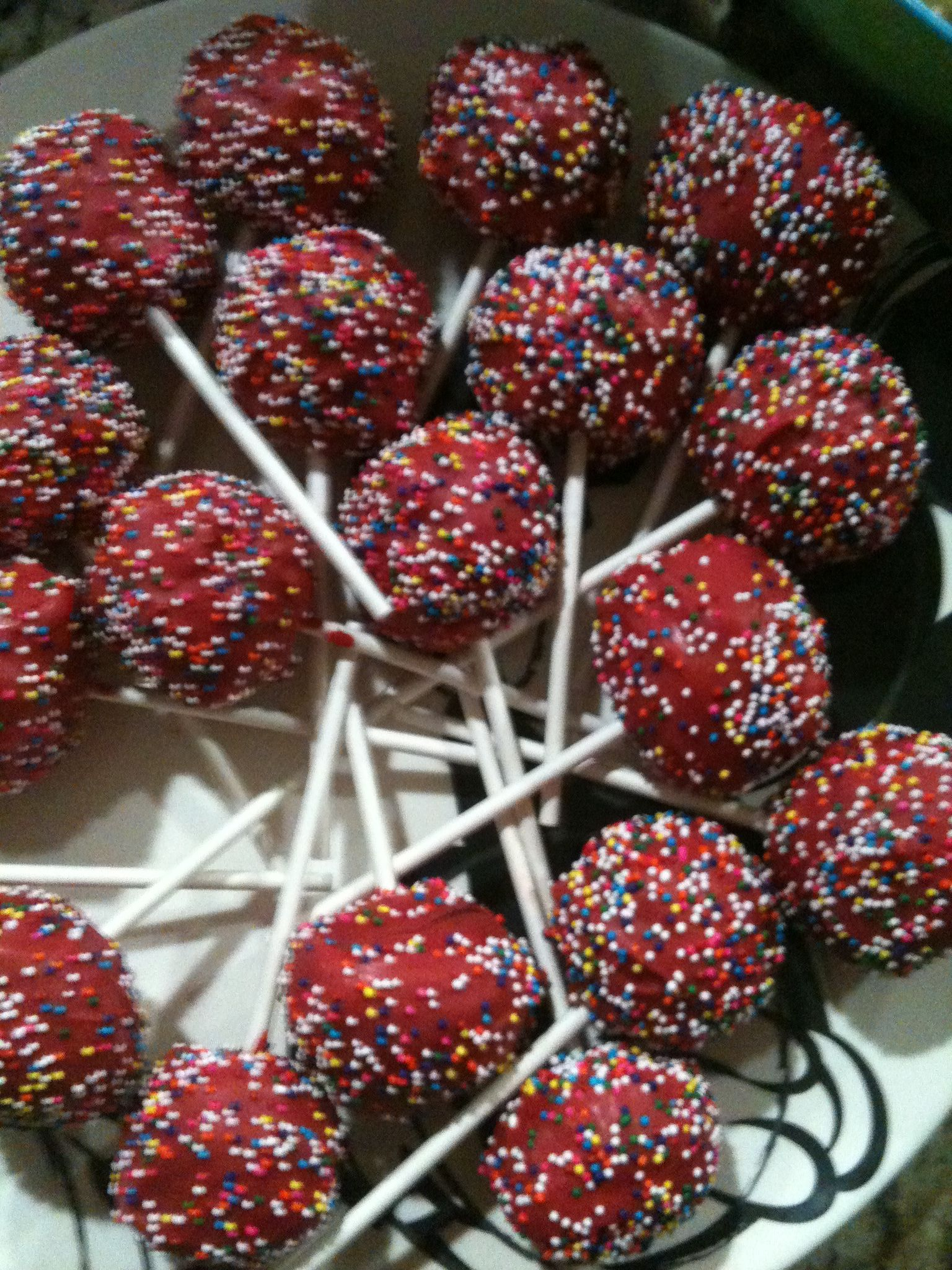 Cake pops ingredients needed box of cake mix any kind