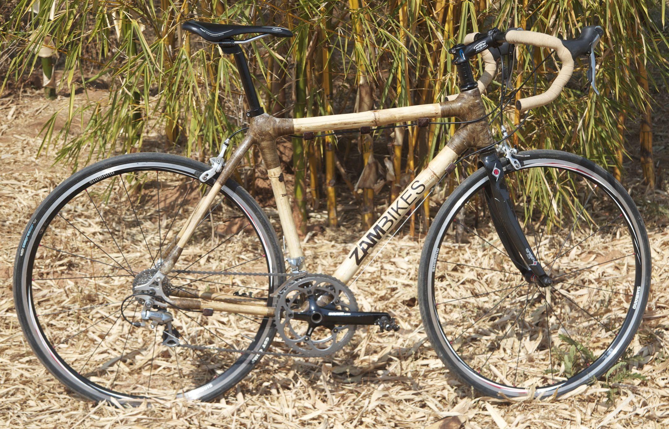 Zambikes: bikes made from bamboo in Zambia. www.zambikes.com ...