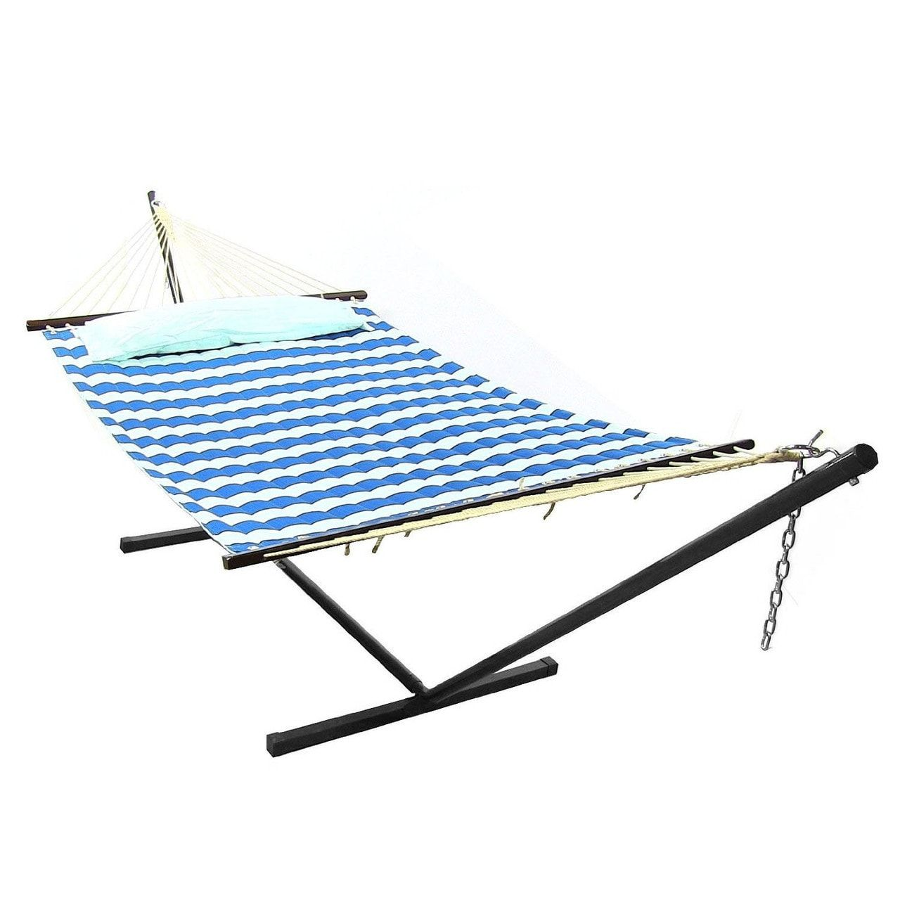 wooden to swing person the arch hammock hammocks install chair best stands hanging stand reviews how review with