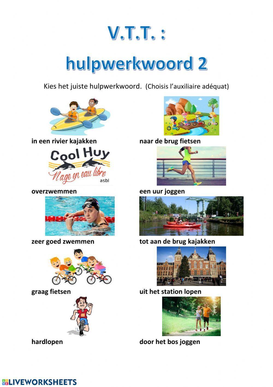 V T T 2 Interactive Worksheet In 2020 Learn Dutch School Subjects Workbook [ 1413 x 1000 Pixel ]