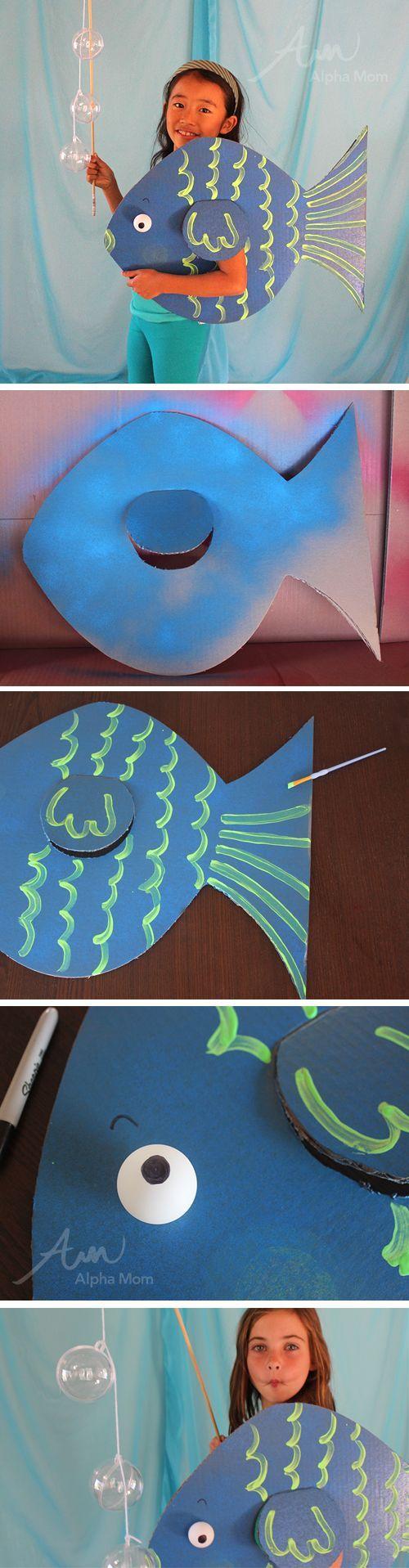 DIY Under the Sea Costumes: Fish! by Brenda Ponnay for Alphamom.com