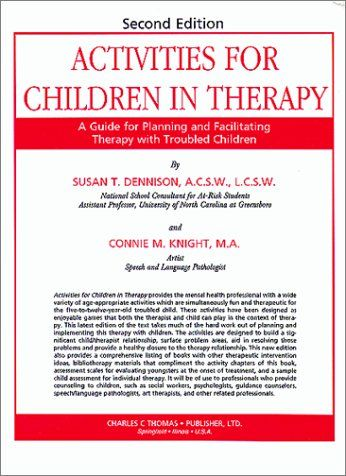 Activities for Children in Therapy: A Guide for « Library User Group