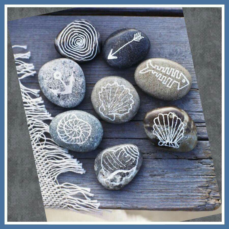 Love these ! I collect pebbles for crafts