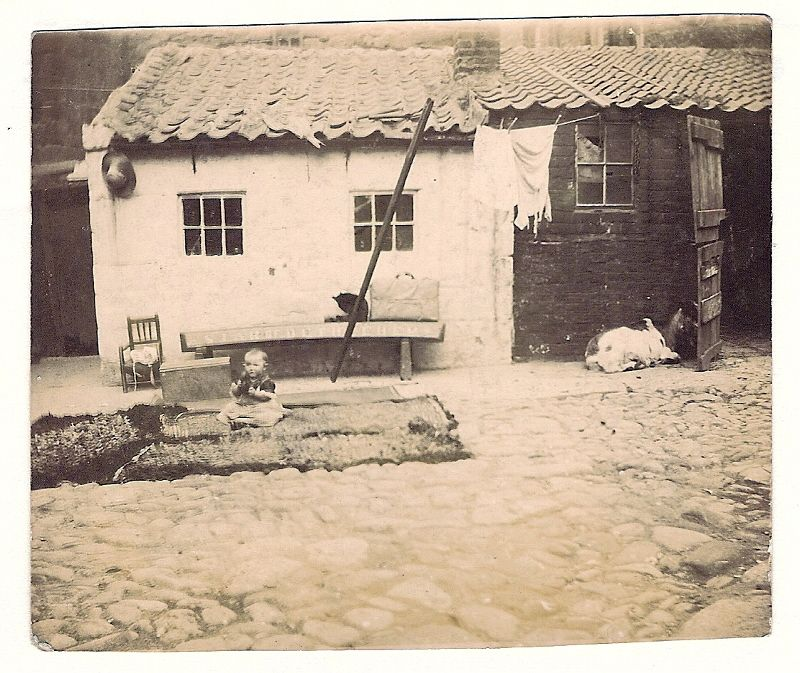 As it was 1898 Lauras Studio in Staithes The village was home to