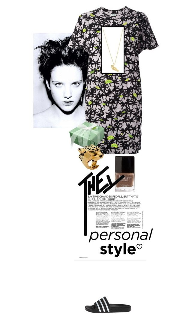 """my real outfit today"" by akchen ❤ liked on Polyvore featuring Butter London, Kenzo, adidas, Cartier, Elizabeth and James, women's clothing, women, female, woman and misses"
