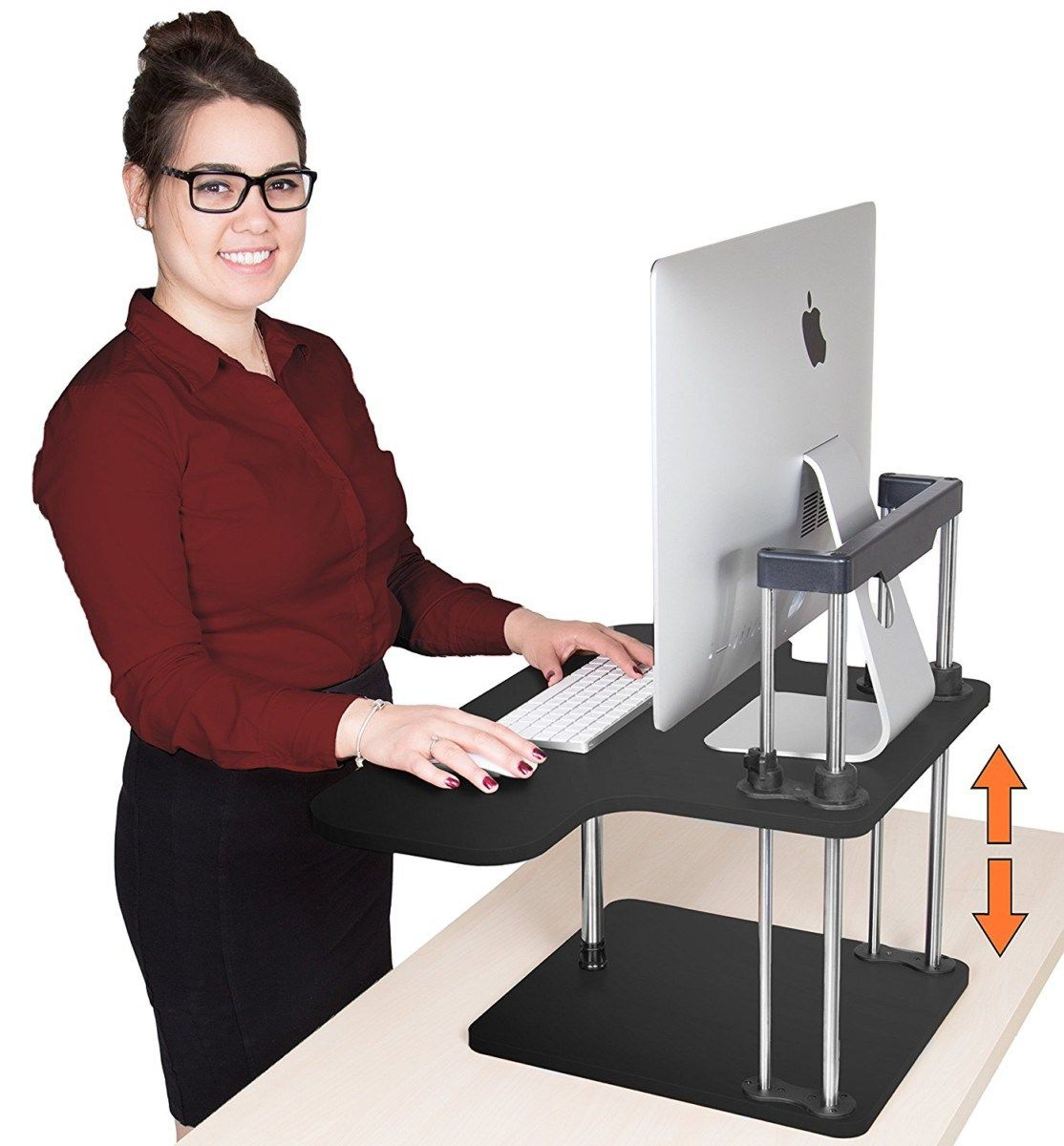 standing plumbers diy standup project pipe industrial desk