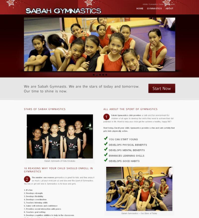 Artistic Gymnastics Training Center In Kota Kinabalu Sabah Malaysia Gymnastics Enhancement My Portfolio Sabah