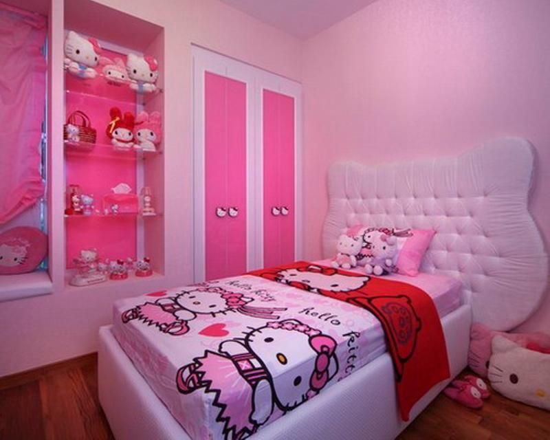 Simple Bedroom Remodel 15+ ideas about hello kitty bedroom decor and makeover | hello