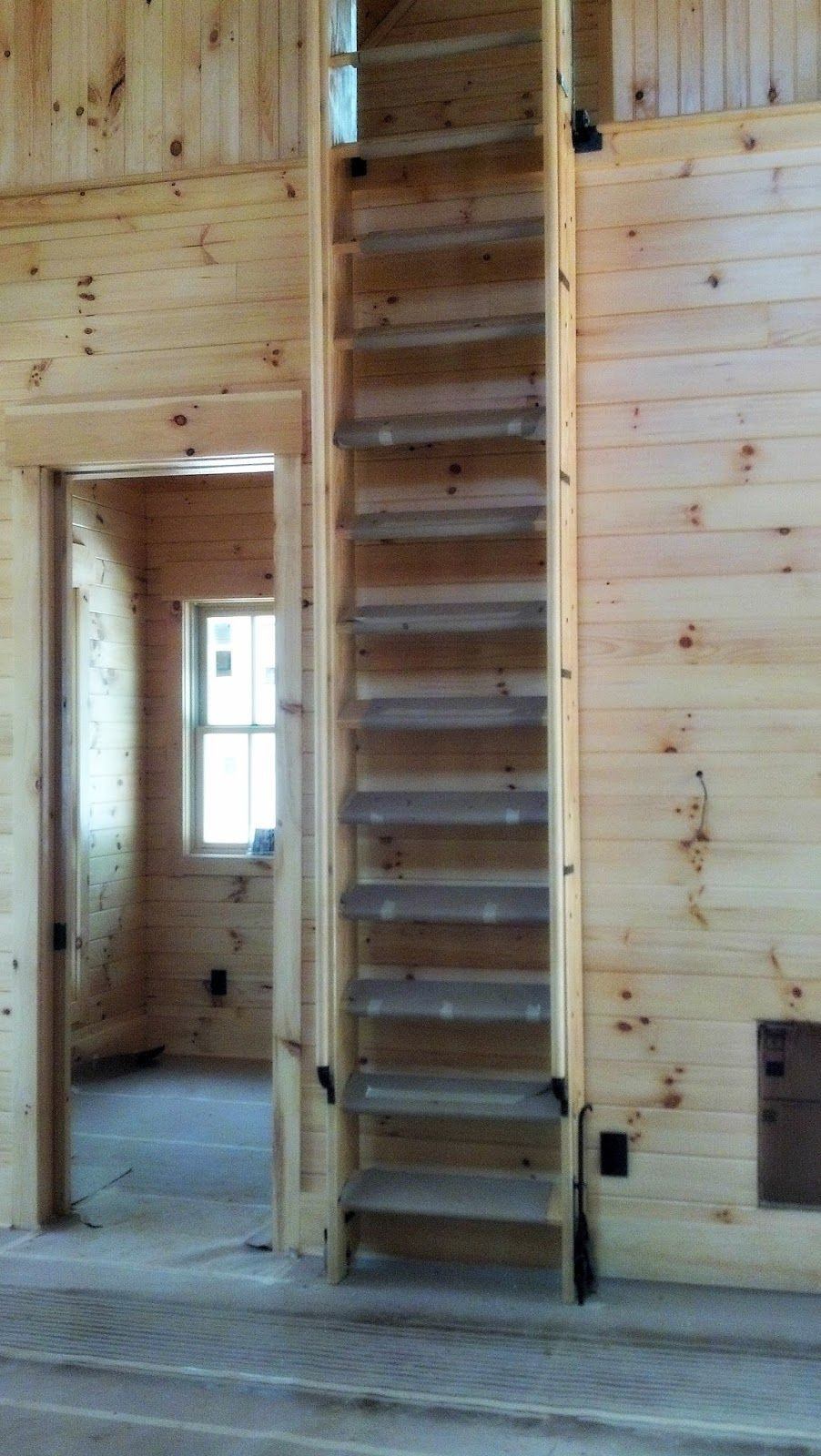 Retracting Ship S Ladder In 2019 Ship Ladder Loft