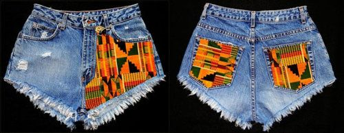 Kente Jeans #African Inspired