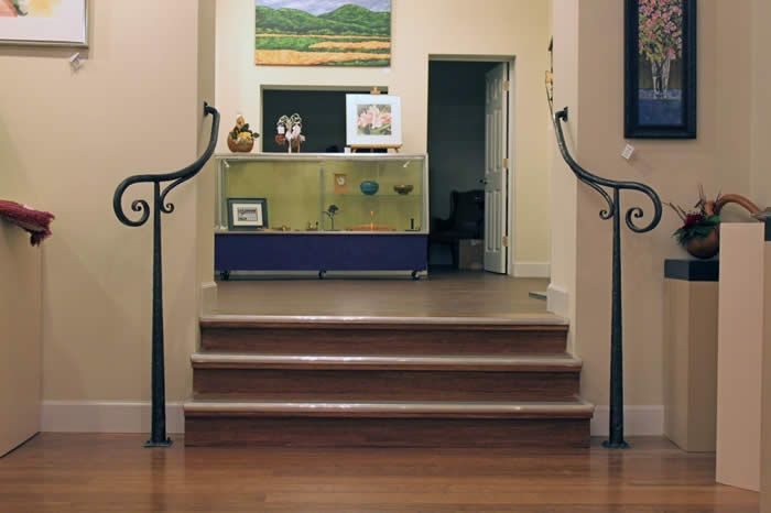 Best Simple Wrought Iron Railing For The Kentucky Guild Of Artists Craftsmen By Matthew… Wrought 400 x 300