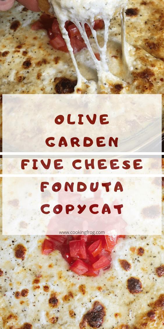 Olive Garden Five Cheese Fonduta Copycat - Cooking Frog