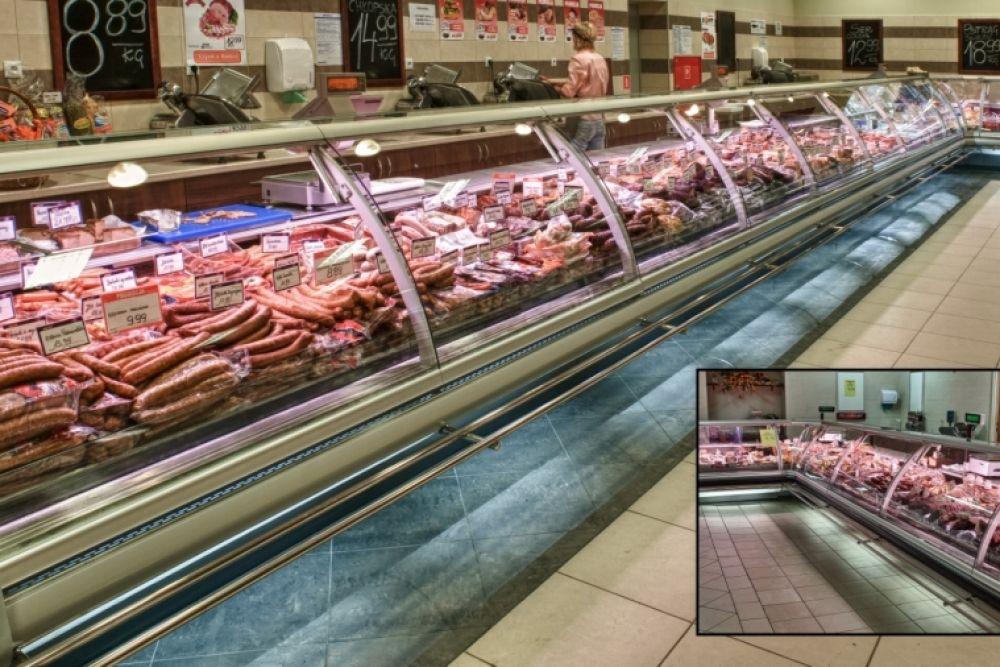 3d model deli counters in 2020   Deli counter, Grocery