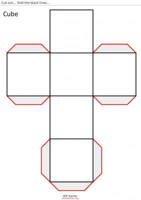 Super Recopilatorio De Materiales Para Trabajar Matematicas En Primaria Cubos Geometria Figuras Geometricas Para Recortar Cuerpos Geometricos Para Armar