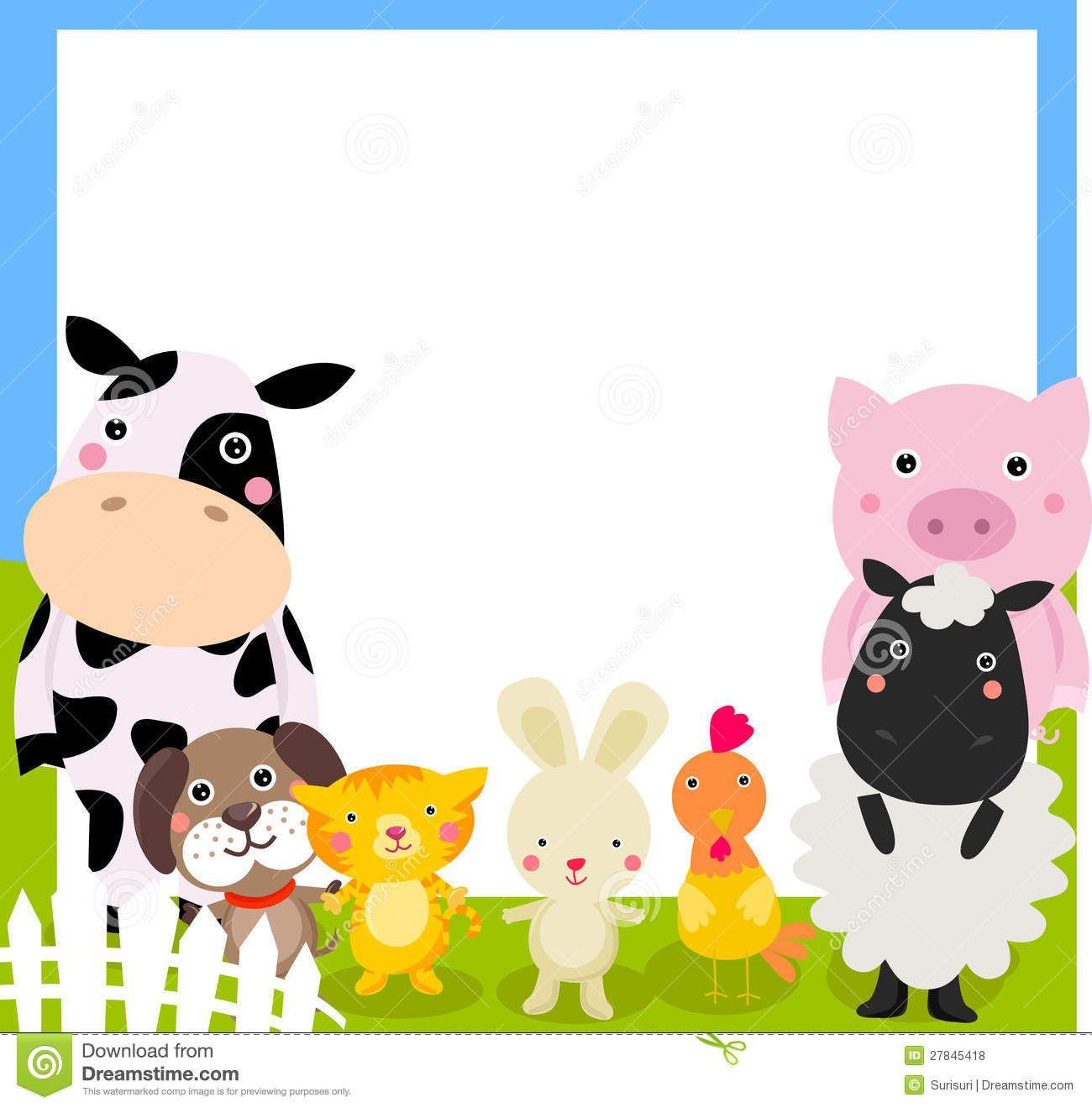 25+ Farm Animal Clipart Frame