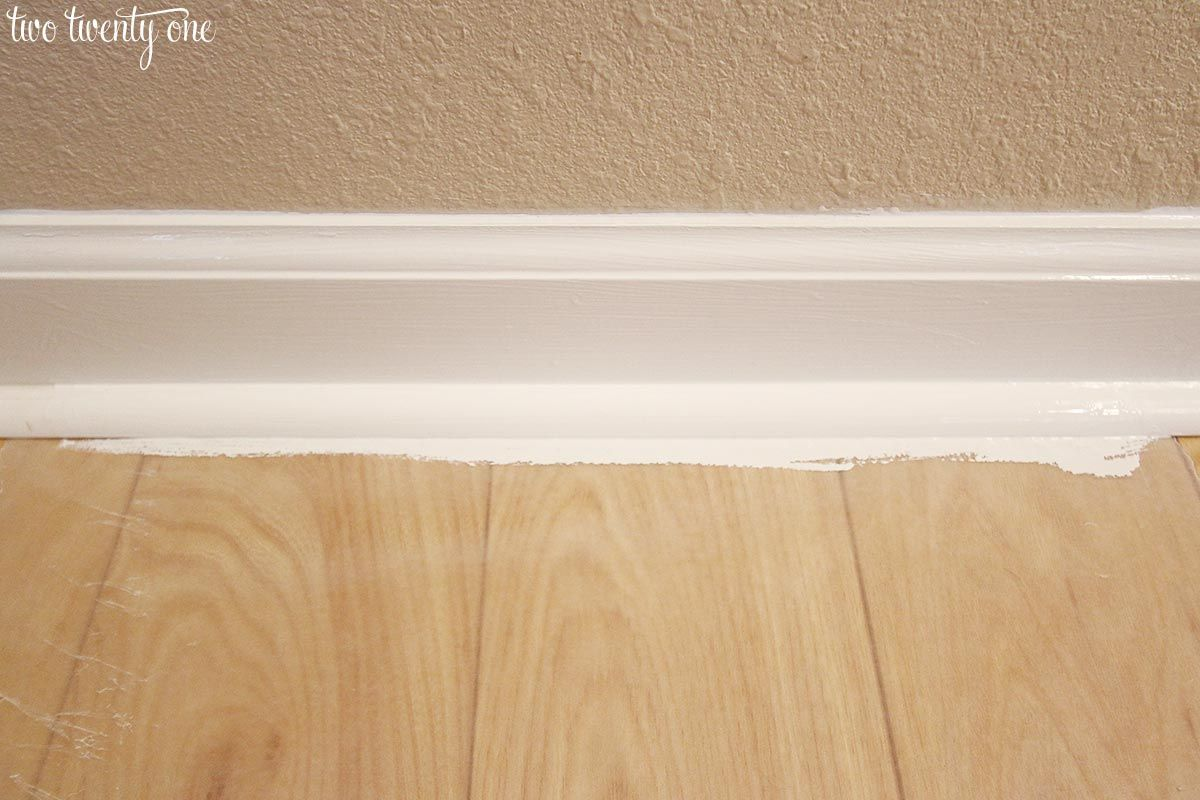 Caulking Painting Baseboards Tips And Tricks Painting Baseboards Baseboards Baseboard Trim