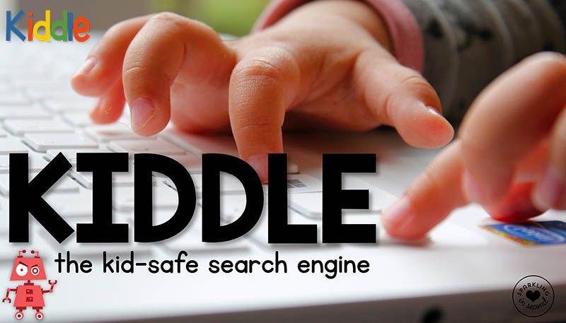 Kiddle كيدل محرك البحث الخاص بالأطفال و المدعوم من طرف جوجل تعليم جديد Teaching Blogs Kids Safe Teacher Technology